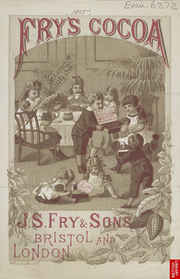 Advert For Fry's Cocoa